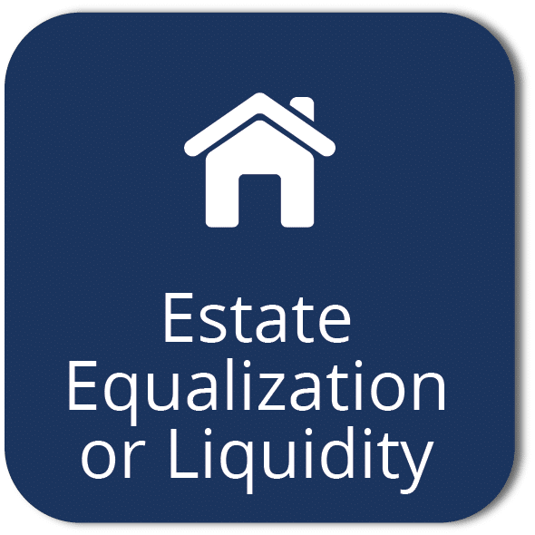 Estate equalization or liquidity