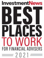 2021 InvestmentNews Best Places to Work Logo